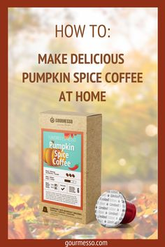 Gourmesso Pumpkin Spice Coffee Savor the season with a mix of traditional fall and winter flavors in one special and limited-edition blend. This cozy blend will fill your taste buds with the sweetness of pumpkin cake, with a hint of spiciness and a velvety crema finish.   Pumpkin Spice Coffee   Pumpkin Spice Latte  Pumpkin Spice at Home   Flavored Espresso   Expresso pods   Espresso at Home   Compostable K Cups   Espresso Capsules   Fair Trade Coffee Pods   Compostable Coffee Pods   Espresso At Home, Best Espresso, Espresso Cups, Pumpkin Spice Coffee, Spiced Coffee, Nespresso Usa, Espresso Recipes, Fair Trade Coffee, Blended Coffee