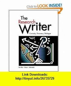 The Research Writer (9780618756223) John Van Rys, Verne Meyer, Patrick Sebranek , ISBN-10: 0618756221  , ISBN-13: 978-0618756223 ,  , tutorials , pdf , ebook , torrent , downloads , rapidshare , filesonic , hotfile , megaupload , fileserve