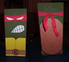 Teenage Mutant Ninja Turtles Valentine's Box