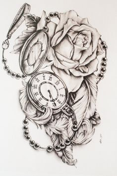 Watch tattoos tatouages de montre and montres de poche on pinterest