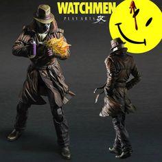 Watchmen: Rorschach Action Figure Play Arts Kai