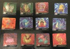 12 x Pokemon Artbox Series ONE Lenticular Duel Image Cards 1996 Excellent. Collectible Cards, Pokemon Cards, Painting, Image, Ebay, Painting Art, Paintings, Drawings