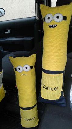 Almofada para cinto de segurança Minions