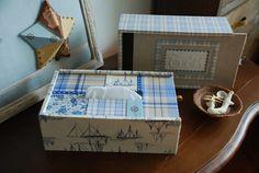 スライドボックス・ティッシュボックス |Atelier Muguet - Cartonnage-