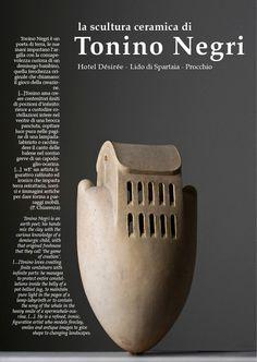 Tonino Negri. pottery