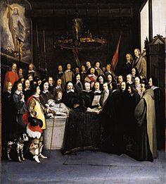 Ondertekening van de Vrede van Madrid, waarbij Frans I van Frankrijk zijn aanspraken op Milaan, Napels, Franche-Comté, Kroon-Vlaanderen en Artesië moet opgeven.