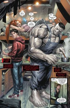 Jason Todd asks Dick Grayson for help - Part 4
