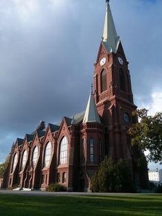 Church in Mikkeli Finland