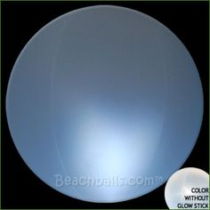 Glowing beach balls for outdoor party - pool/yard decor