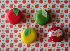 babybel apple, nice teachers gift