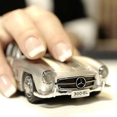 Mercedes Benz Wireless Mouse... this is cool, but I want one of my car (Mazda RX-8)... how hard would it be to make more models?