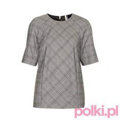 Bluzka w kratę Topshop #fashion #polkipl #bebeauty #moda #style #trendy #totallook