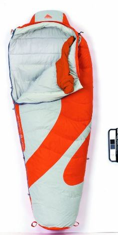Kelty Light Year 20 Degree Down Sleeping Bag, Regular , Russet
