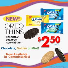 NABISCO OREO Thins- How To Utilize Them Best | Our Military Life Blog  http://blog.mymilitarysavings.com/nabisco-oreo-thins-how-to-utilize-them-best/