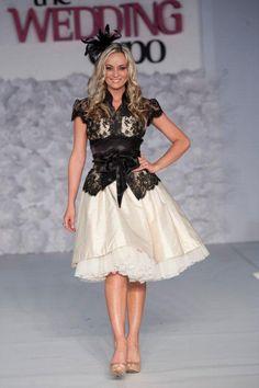 Stunning fashion on The Wedding Expo fashion show ramp