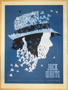 Jack White w/ Benjamin Booker - silkscreen concert poster (click image for more detail) Artist: Methane Studios Venue: Air Canada Centre Location: Toronto, ON Concert Date: 7/31/2014 Edition: 220; sig