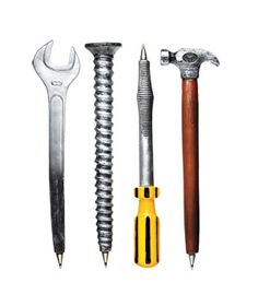 Tool Pens from Mzyplyzyk