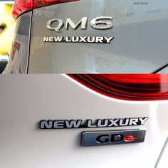 Detailkorea Car Slogans Lettering Emblem Silver A-Type for All Cars #DETAILKOREA #Detailkorea #Car #Car_Emblem #Emblem #New_Luxury