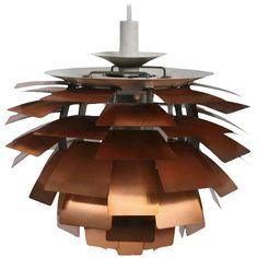 1stdibs.com   First Edition Copper Poul Henningsen Artichoke Lamp