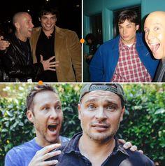 Tom welling and Michael rosenbaum through the years