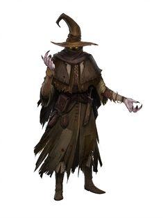 The brown prophet by earl-graey character design inspiration, fantasy character design, character Fantasy Wizard, Fantasy Monster, Fantasy Rpg, Medieval Fantasy, Fantasy Artwork, Dark Fantasy, Dnd Wizard, Warhammer Fantasy, Monster Art