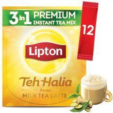 Lipton Milk Tea 3 in 1 Teh Halia 12 sticks Tea Latte, Best Oatmeal, Lipton, Milk Tea, Sticks, I Shop, Snack Recipes, Conditioner, Good Things