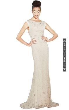 Alice and Olivia Beaded Gown! | CHECK OUT MORE IDEAS AT WEDDINGPINS.NET | #weddings #weddingdress #inspirational