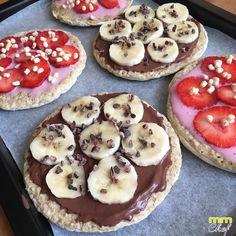 Mini pizzas dulces saludables (especial desayuno) - Blog MASmusculo