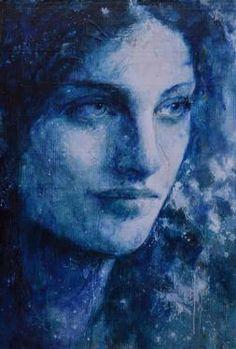 "max gasparini; Mixed Media 2013 Painting ""Ariel """