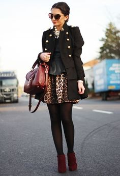 romwe  Shirt / Blouses, Topshop  Dresses and Michael by Michael Kors  Bags