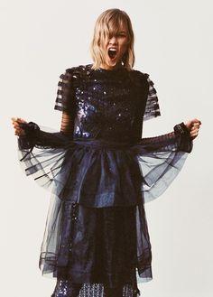 Karlie Kloss by Cass Bird for The Sunday Style S/S 2014
