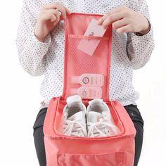 Waterproof  Shoe Bag Travel Pouch Shoe Storage Bag Bottle Bag Toiletries Laundry Pouch 3colors 99