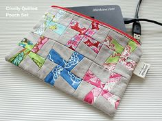 Cissily Quilted Pouch