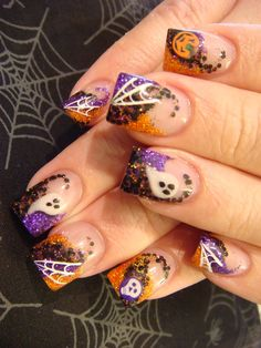 2014 Latest Halloween Nail Designs Ideas