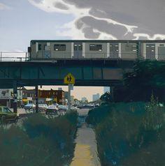 Thunderstruck (John Register (American, 1939-1996), Coney Island...)