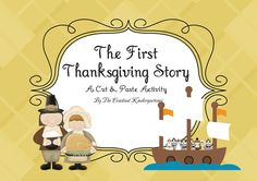 Free! A fun activity to assess what your students know, plus teach them about the first Thanksgiving.The children learn Thanksgiving history facts while cutting and pasting Thanksgiving images in the right order (sequence), on the worksheet included.