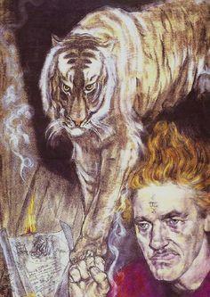 WindingCosmicSerpent (Austin Osman Spare, you are everything. Austin Osman Spare, Automatic Drawing, Art Eras, Occult Art, English Artists, Image Archive, Portraits, Art Deco Era, Surreal Art