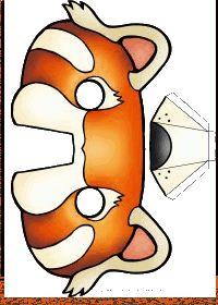 Le masque du panda roux