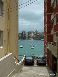 A parking with a view...! Manly, Australia