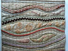 Stupendous Stitching Projects Visit http://fiberartist.net/   #fiberartist #sewing art #creative stitching