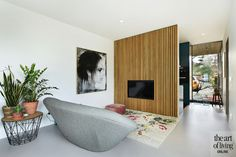 Art Of Living, Living Room, Tv In Kitchen, Luxury Interior, Dream Big, Luxe Villa, Beach House, Furniture, Happy