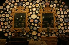 plate displays on walls | saw a similar plate display inside ABC Carpet and Home in NYC last ...