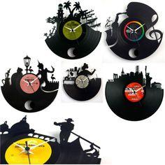 orologi riciclo lp vinile