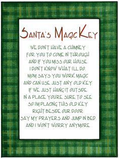1000 Images About Santa S Key On Pinterest Santa Key