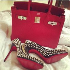 I love a pop of Red