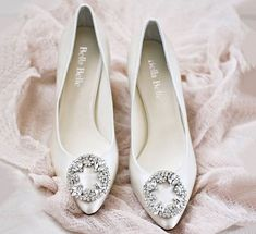 Understated classis wedding shoes