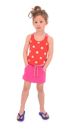 Skirt locks pink Br@nd for girls summer 2016 www.brandforgirls.nl