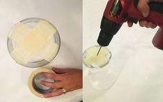Turn a Vase into a Mercury Glass Pendant