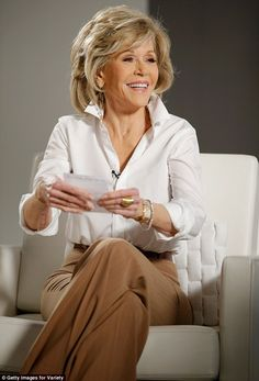 Fountain of youth: Jane Fonda, 77, defied her years and looked gorgeous while attending Va...