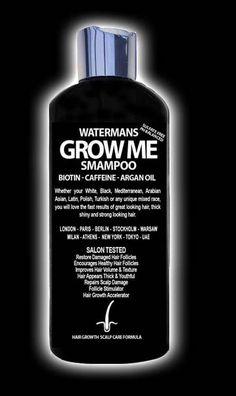 World Best Hair Growth Shampoo, Get longer hair in half the time.